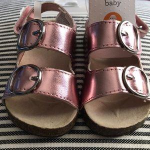 Gymboree pink sandals